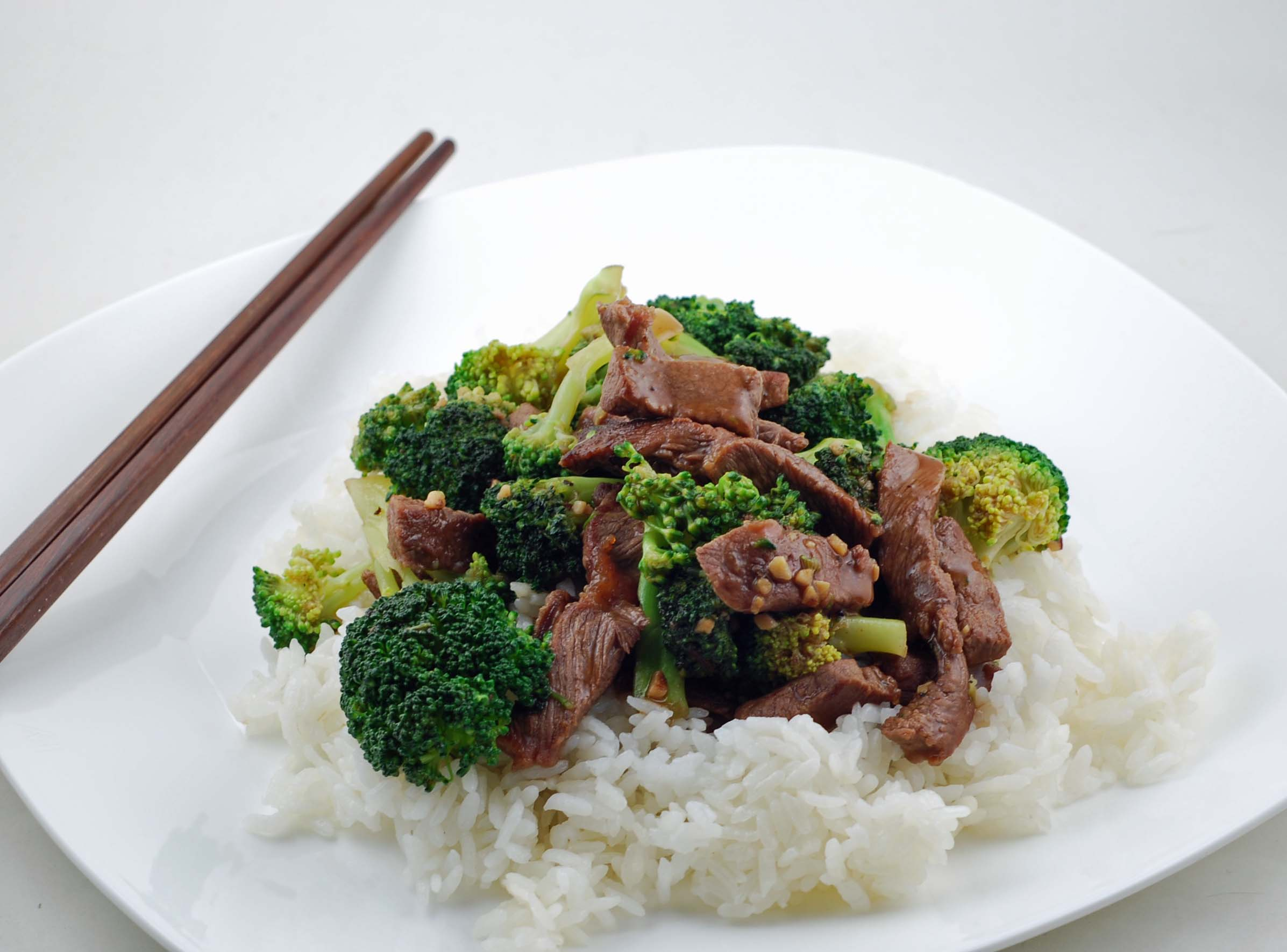 Chinese Beef Broccoli | Blissfully Delicious