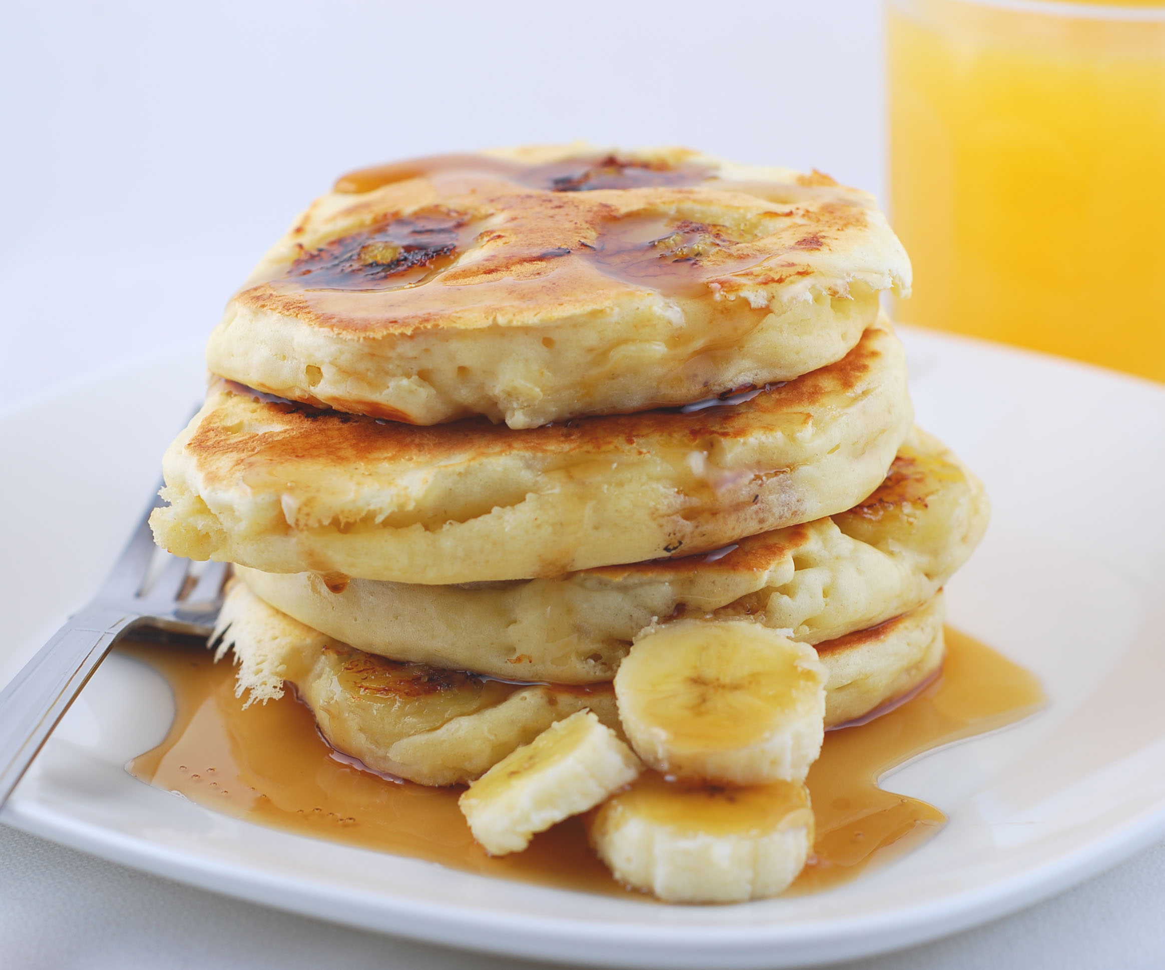 Banana Pancakes Recipes — Dishmaps