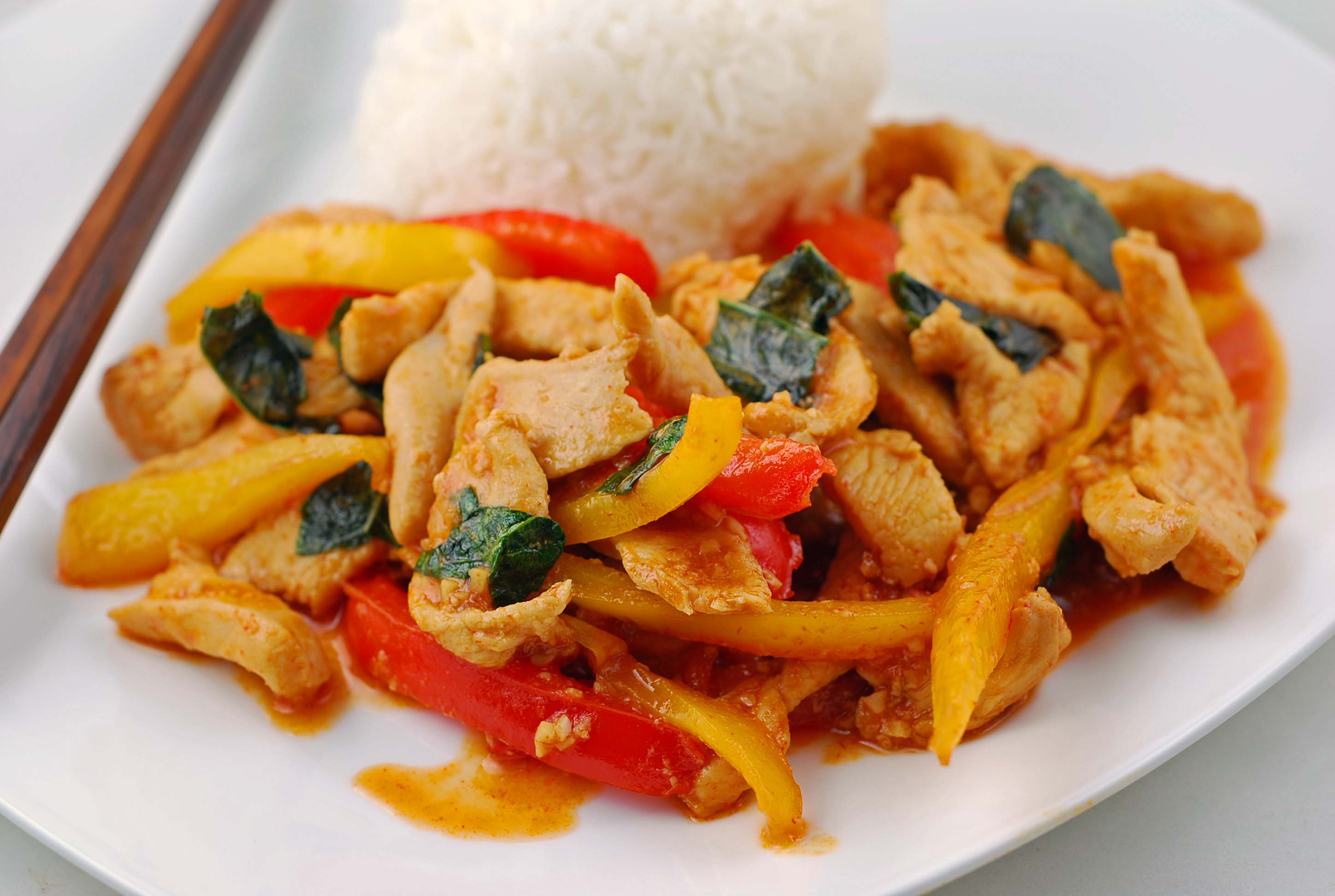 Thai Style Chicken In Sweet Chili Sauce Blissfully Delicious