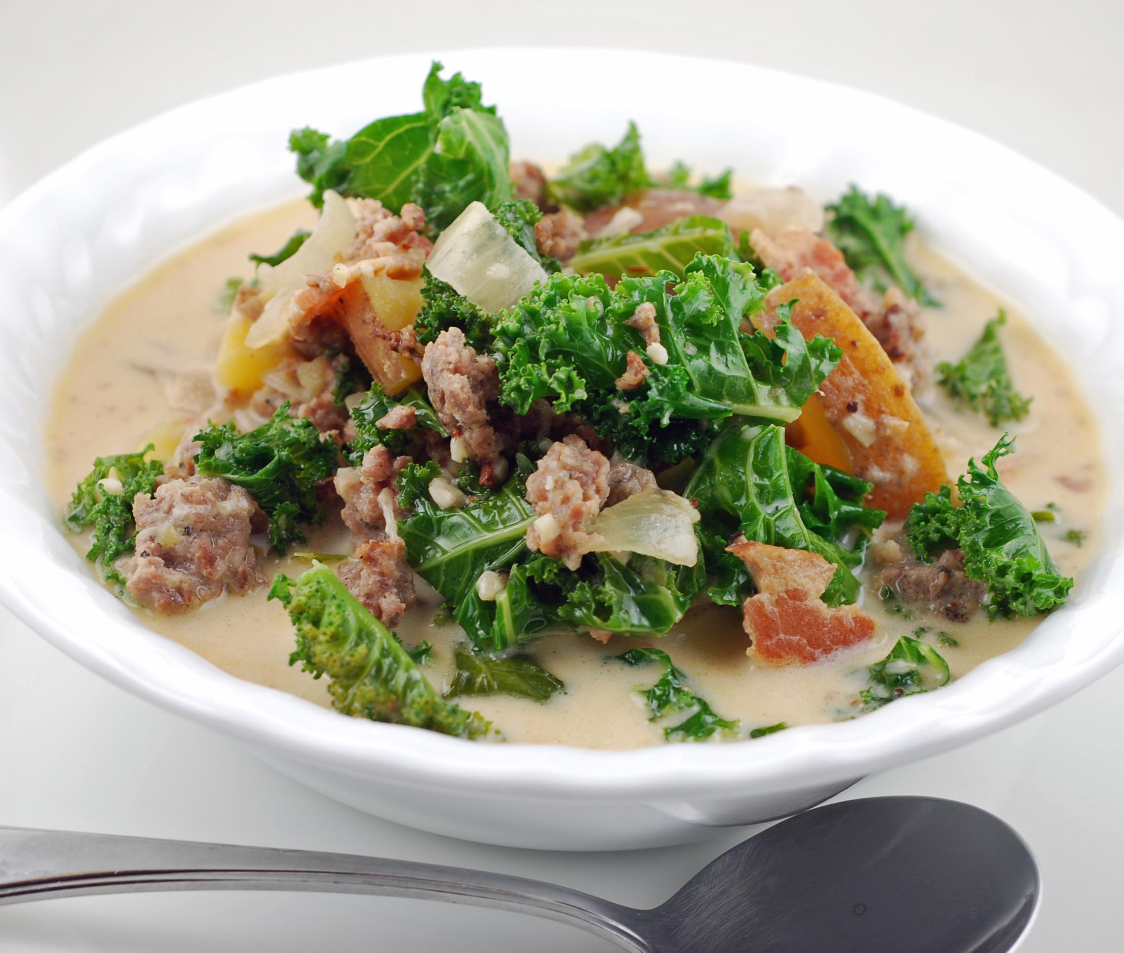 Zuppa Toscana Soup | Blissfully Delicious
