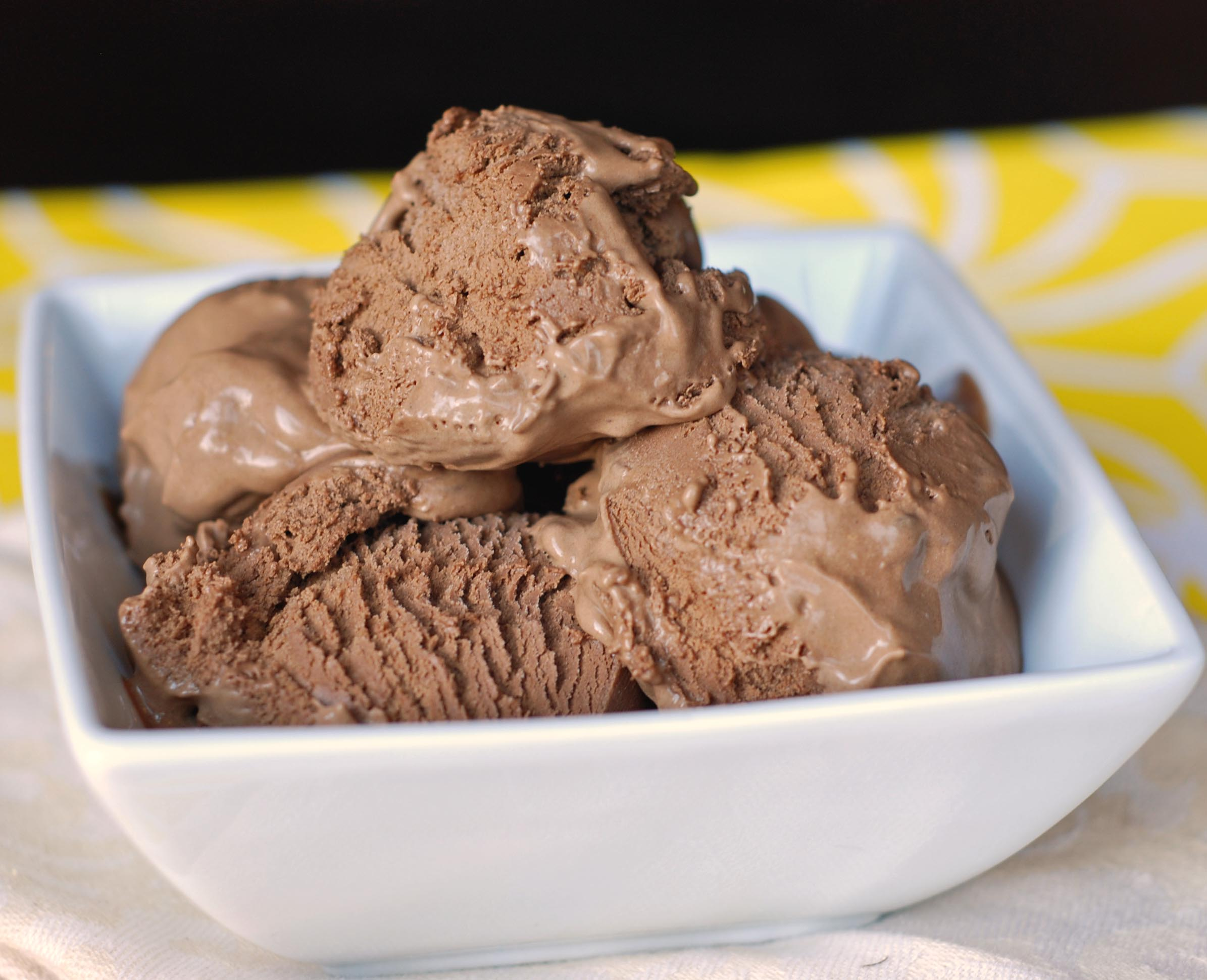 The Best Chocolate Ice-Cream! | Blissfully Delicious