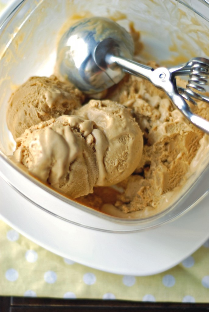 Caramel Ice Cream | Blissfully Delicious
