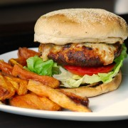 chicken sun dried tomatoes burger