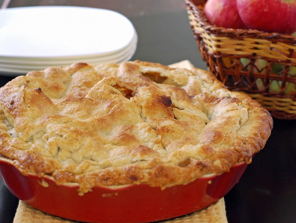 American Apple Pie Recipe — Dishmaps