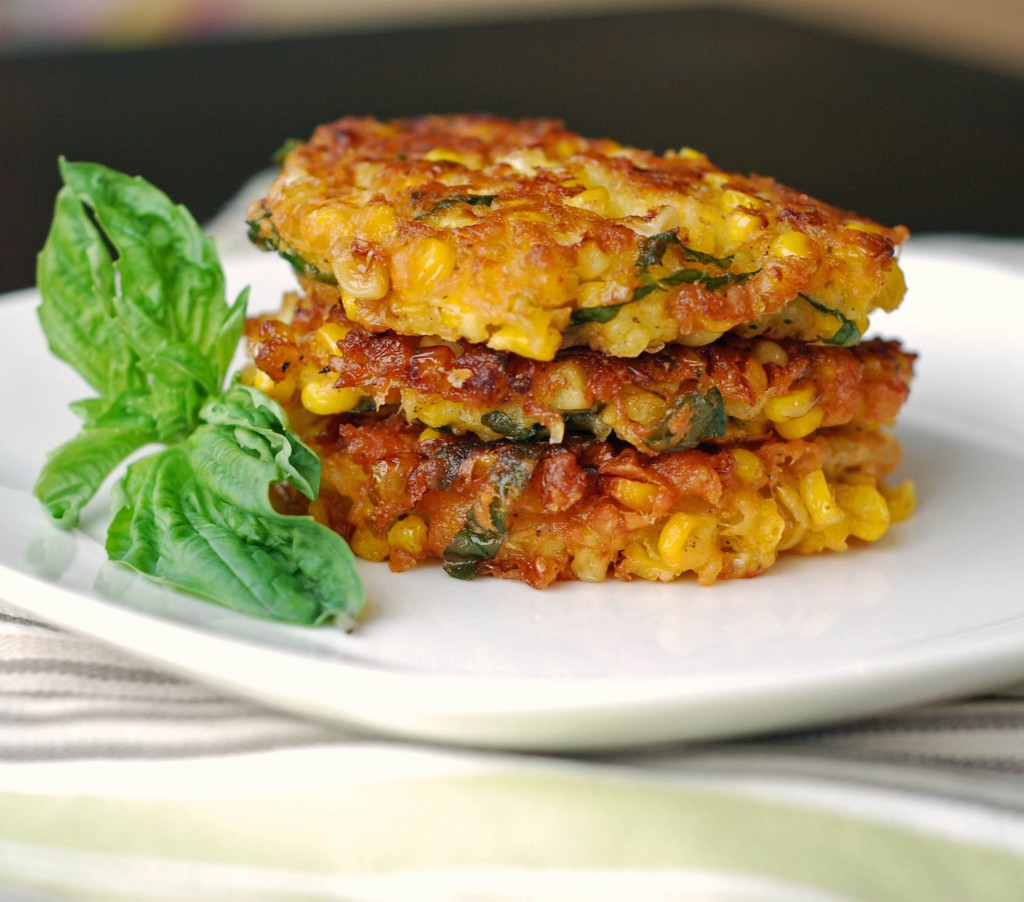 ... corn fritters rule the world for reals thai style corn fritters with