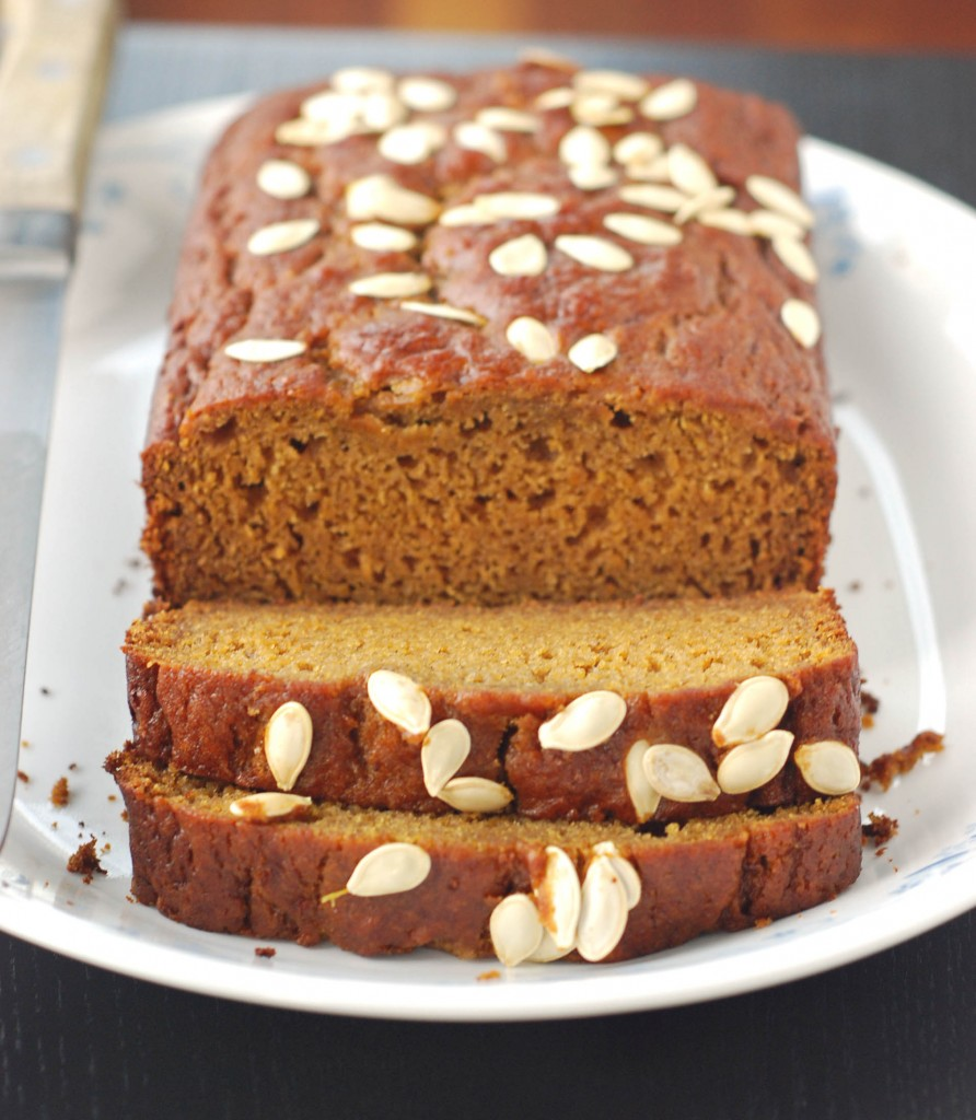 Olive Oil Pumpkin Bread | Blissfully Delicious