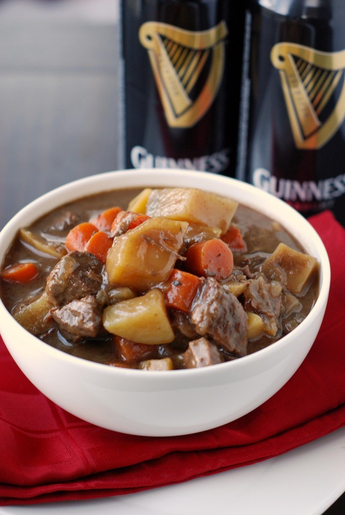 Slow Cooker Guinness Beef Stew | Blissfully Delicious