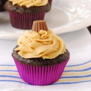 Hershey's Perfectly Chocolate Cupcakes | Blissfully Delicious