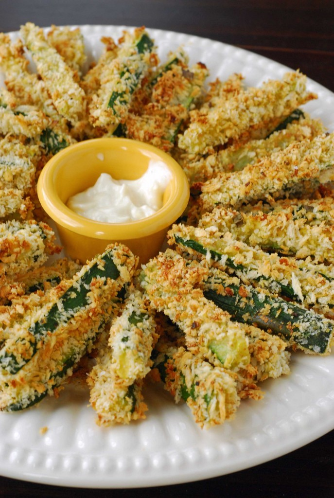 Crispy Baked Zucchini Fries Blissfully Delicious