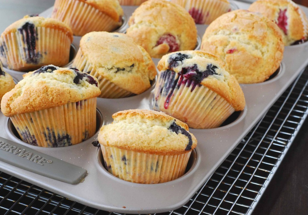 Blythe's Blueberry Muffins | Blissfully Delicious