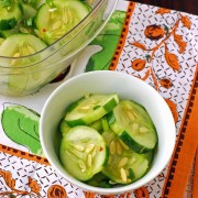 korean cucumbers