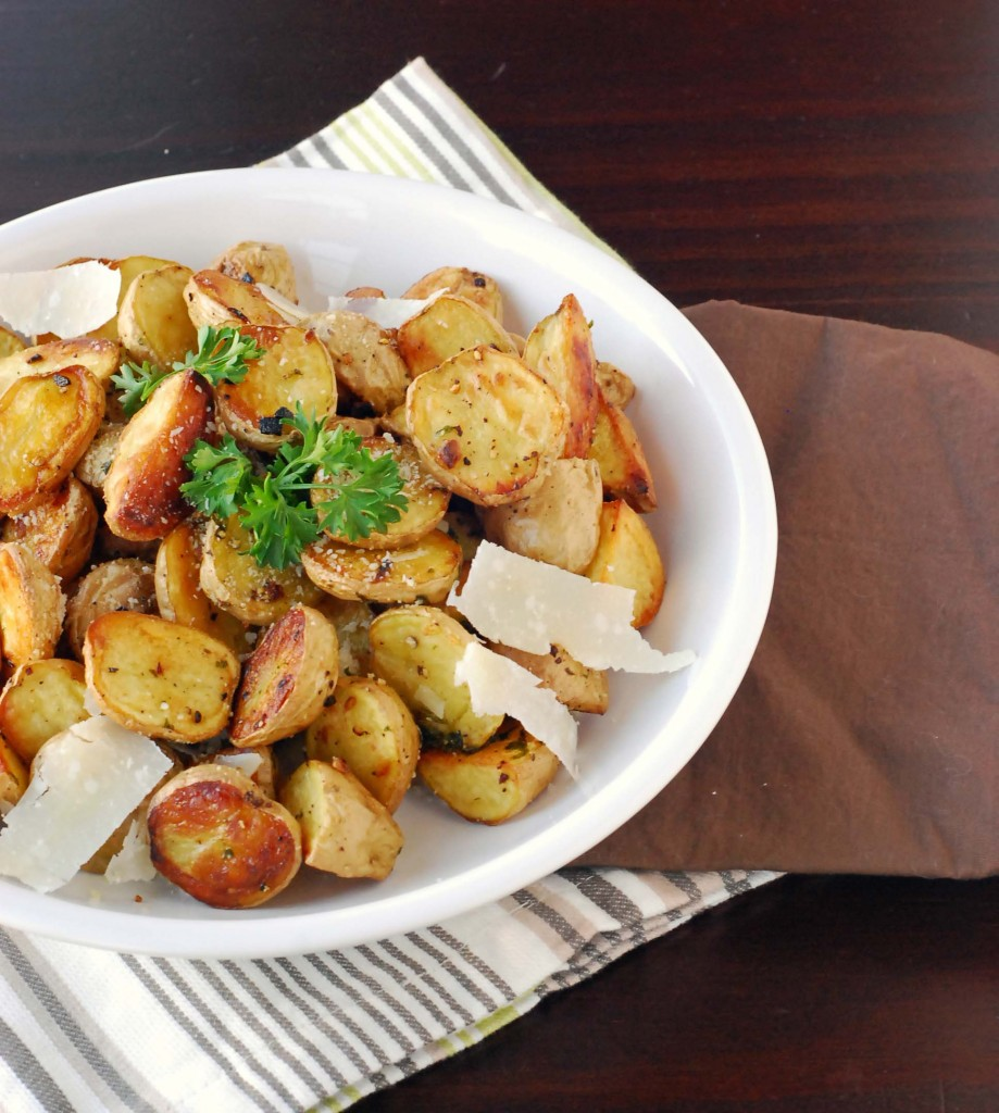 roasted baby potatoes 2