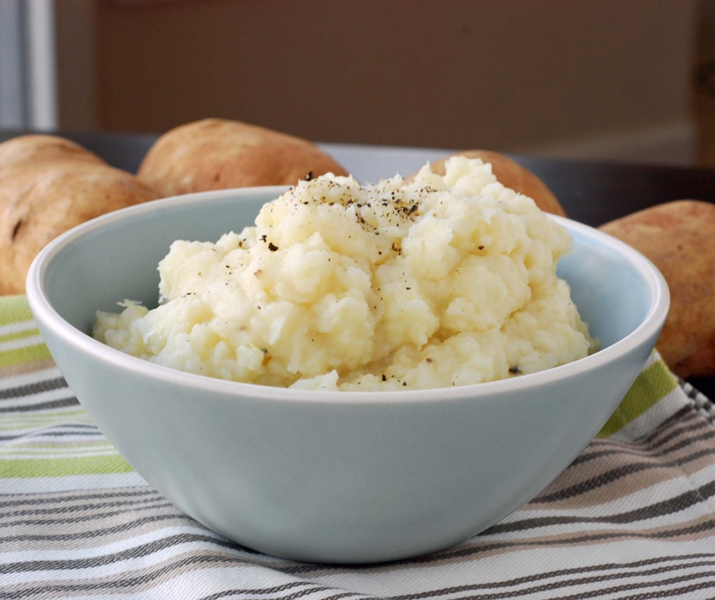 easy mashed potatoes 2