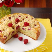 raspberry sour cream coffee cake 2