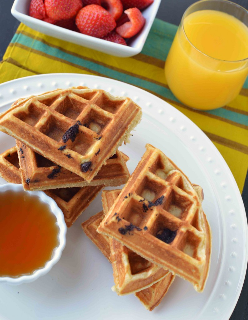 Rich Buttermilk Waffles | Blissfully Delicious