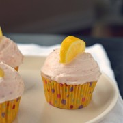 straw lemonade cupcakes