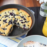baked blueberry pancake 2