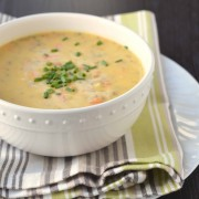 cheeseburger soup 1