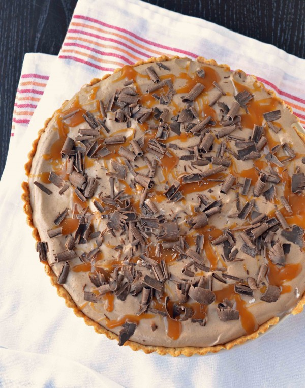 Milky Way Tart | Blissfully Delicious