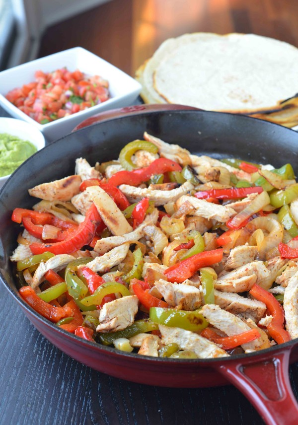 Chicken fajita 2